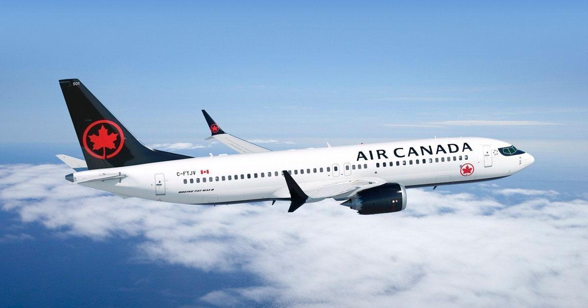Novidades no Canadá – Air Canada